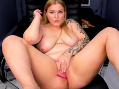 Amazing Filthy Chubby Camgirl 2