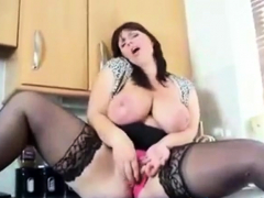 big-breasted-british-girl-cums-in-kitchen