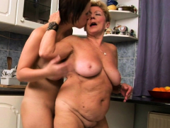lesbo-granny-pussylicking-busty-babe