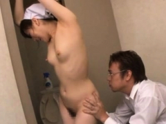 Sinful oriental Yuu Kawakami getting hard fucked
