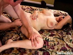 Big Breasted LeAnn Gets Pounded By Hunter Watson
