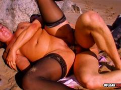 blonde-in-stockings-gets-her-anus-plowed-hard
