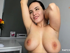spreading-porn-vid-of-sensual-big-boobs-brunette