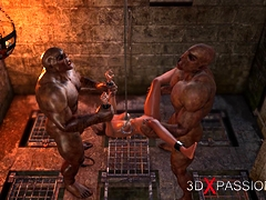 cruel orcs fuck hard teenage slut in the dark dungeon teensxxx.info