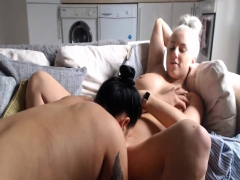 Dangerous Lesbian Couple Show Their Massive Bosom Live Watch Full Porno Movie for free