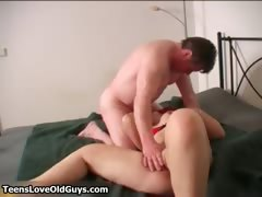 Hot Redhead Busty Teen Girl Enjoys Part1