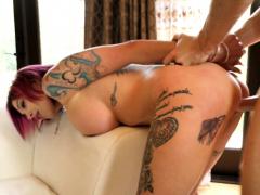 tattooed busty pornstar anna bell peaks Hot
