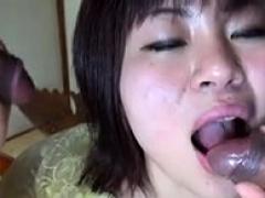 Nozomi Oshima Oriental Momma Enjoying A Small Japanese Cock