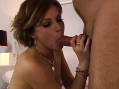 Sexy Brunette Chick Sylvia Can't Stop Fucking