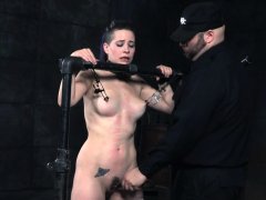 restrained-slave-whipped-and-toyed-by-her-dom