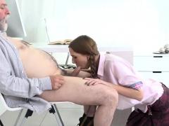 Sweet schoolgirl gets teased and plowed by older teac60Hqh