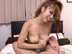 japanese-housewife-haru-sakuraba-rubs-dick-uncensored