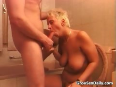 Blonde Milf And Asian Slut Are Getting Part4