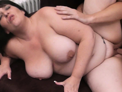 first date sex with brunette fatty