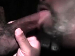 Gay Blowjob Through Gloryhole