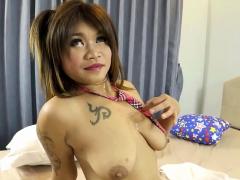Thai Lady With Big Tits Enjoying Hardcore Sex