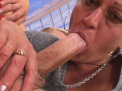 old-mature-neighbor-rides-his-horny-big-cock