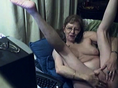 Lovely granny with glasses 12