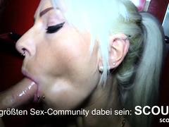 Anni Angel ohne Kondom von Fremden auf Sexparty gefickt