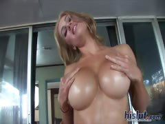 this-blonde-stripteased