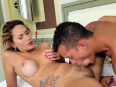 TS Bella Atrix and a Guy Fuck Each Other
