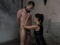 glam-euro-femdom-blows-and-wanks-slaves-dick