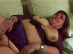 Chubby GILF Is Getting Fucked Hard