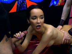 francys-belle-collect-sperm-and-gets-bukkakes