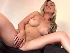 Sweet european porn video with masturbation and anal
