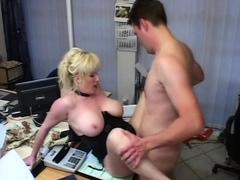 Lady steph footjob and handjob BIG CUMSHOT