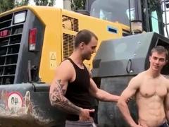 Gay sex movies couple xxx Bulldozer That Ass!