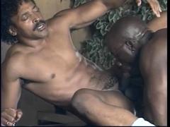Black gays blowjob rimming