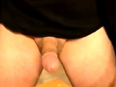 German Str8 Daddy with Beefy Soles cums on cam 56