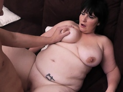 Busty brunette fat pick up and fuck