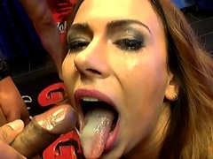 Ani black fox gives reverse cowgirl and gets cums