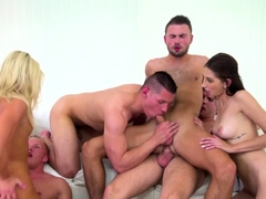Bisexual group ride