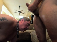 loyal-slave-jizzbag-servicing-it-s-master