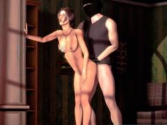 3D Animation Cute Sluts Enjoying Sex - Collection
