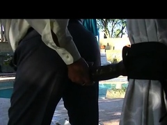 Dress Clothes Dildo Ride using my man cunt