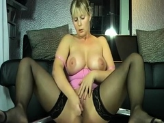 Girl masturbate and squirt a lot