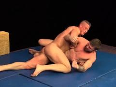 Tomas Vs Nikol Wrestling