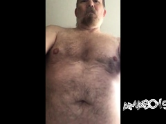 My hairy body totally exposed front and back for all to see