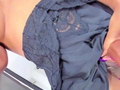 Monster Black Shaft Tranny on Webcam Part 1