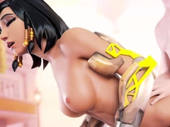 These Game Girls Huge Bouncing Tits Likes Big Dick