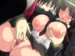 Awesome hentai anal sex with stunning excited nurse