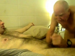 Nipple playing and cock sucking