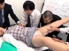 Japanese DP Anal Group Sex