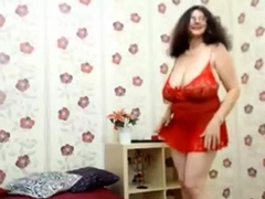 granny with monster tits dancing (no nudity)