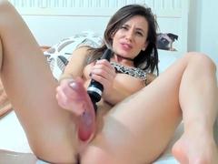hottest-brunette-solo-webcam-masturbation-2