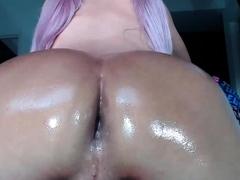 Super Hot Ass TS Valery Sweetscheekss on Webcam 5
